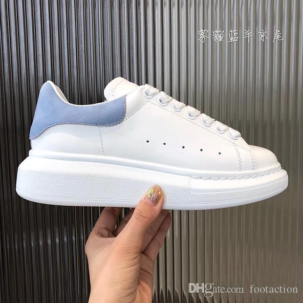 أفضل نمط أحذية عارضة أعلى جودة نموذج Loveres الرجال أزياء المرأة أحذية رياضية أحذية جلدية عالية الجودة Chaussures فاز بالمركز الثاني مع صندوق