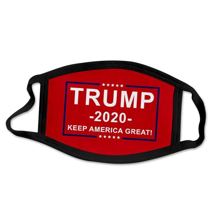 Designer Trump masque facial extérieur 100% coton lavable en tissu réutilisable Masques protection contre la poussière Pollen squames # 459