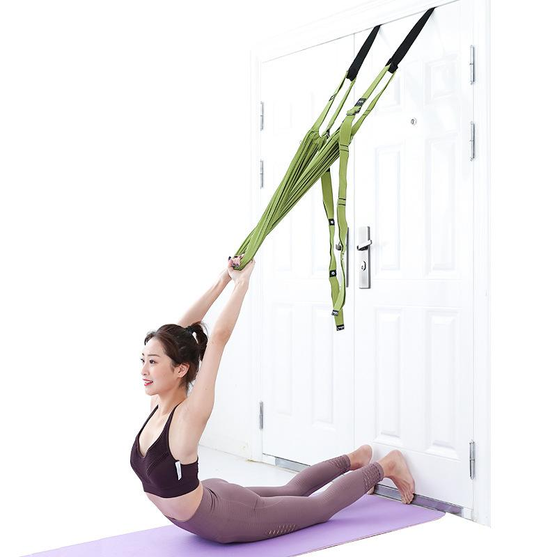Yoga Hammock Swing Belt Aerial Yoga Stretch Rope Fitness Climbing Extention Rope