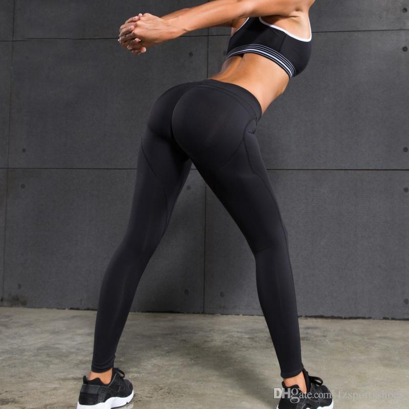 Sex low Waist yoga pants women Sports Pants Gym Running Tights Women Sports Leggings for Fitness Yoga Pants #331488