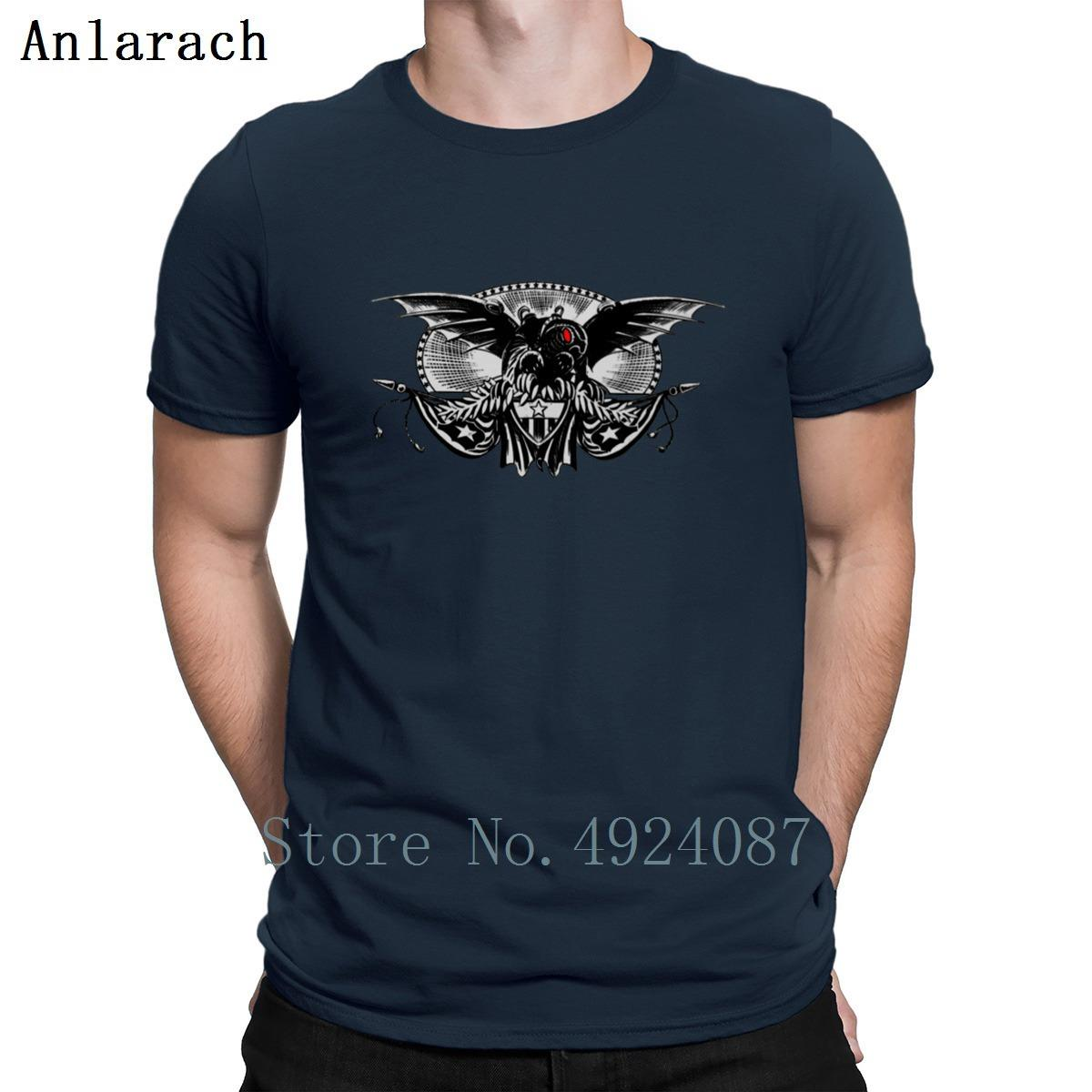 Bioshock Songbird Crests T Shirt Building Interesting Tee Tops Sunlight Mens Tee Shirts Family Crew Neck Letters Designs