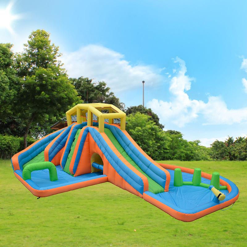 2021 Large Inflatable Water Slides For Sale Giant Inflatable Pool Slide For Adult Commercial Inflatable Water Slides With Pool Water Park For Fun From Ffinflatable 1 203 02 Dhgate Com