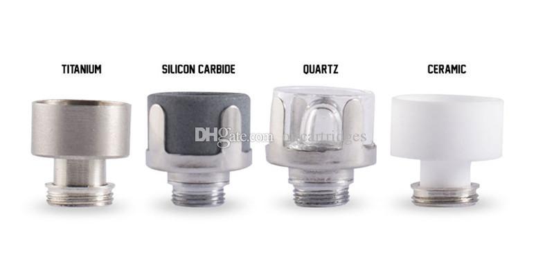 G9 Mini Henail Plus 510Nail Enail TC Port Titanium Titanium Carbide Quartz Chauffage en céramique