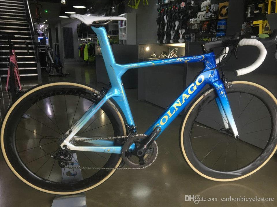 Colnago Concept CHDB Carbon Road Bicyclette Vélo complet Vélo complet avec 105 R7010 GROUPSET 50MM Wheelset
