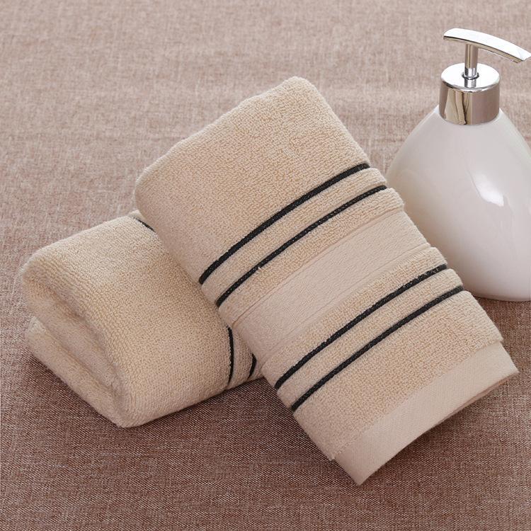 2019 del tovagliolo nuovo modo BRITANNICHE adulto unisex morbido cotone assorbente di base solido bagno asciugamani