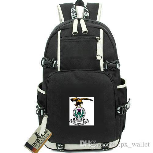 Pacote de dia de Inverness Caley Thistle FC daypack Clube de futebol mochila de futebol Packsack de futebol Mochila de computador Saco de escola de esporte Fora mochila de porta