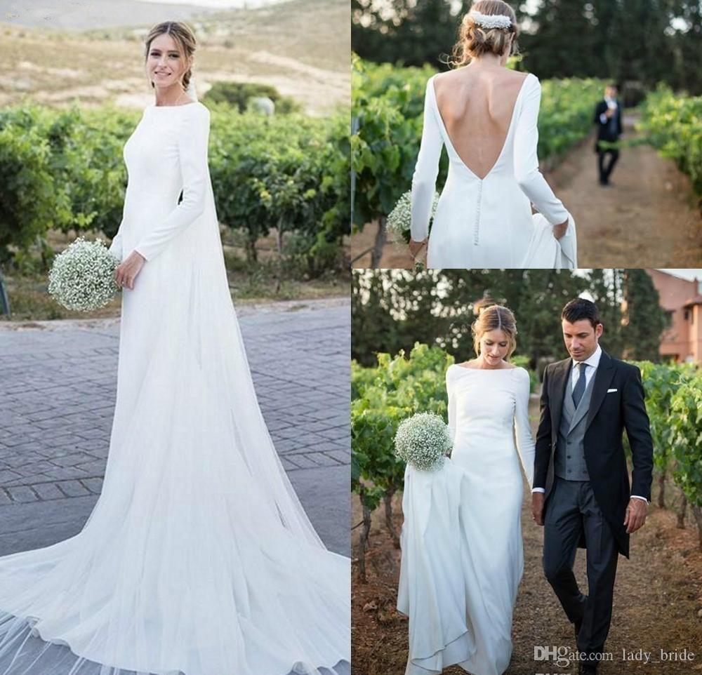 Discount Dubai Saudi Arabia Muslim Boho Wedding Dresses Elegant A
