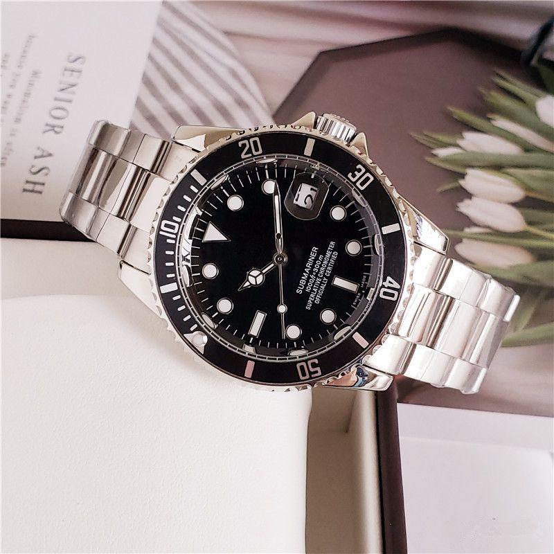 40mm 고품질의 디자이너는 패션 명품 시계 기계적인 움직임이 고급 남성 시계 역할을 시계 시계 RLX MONTRE 드 럭셔리 datejust7