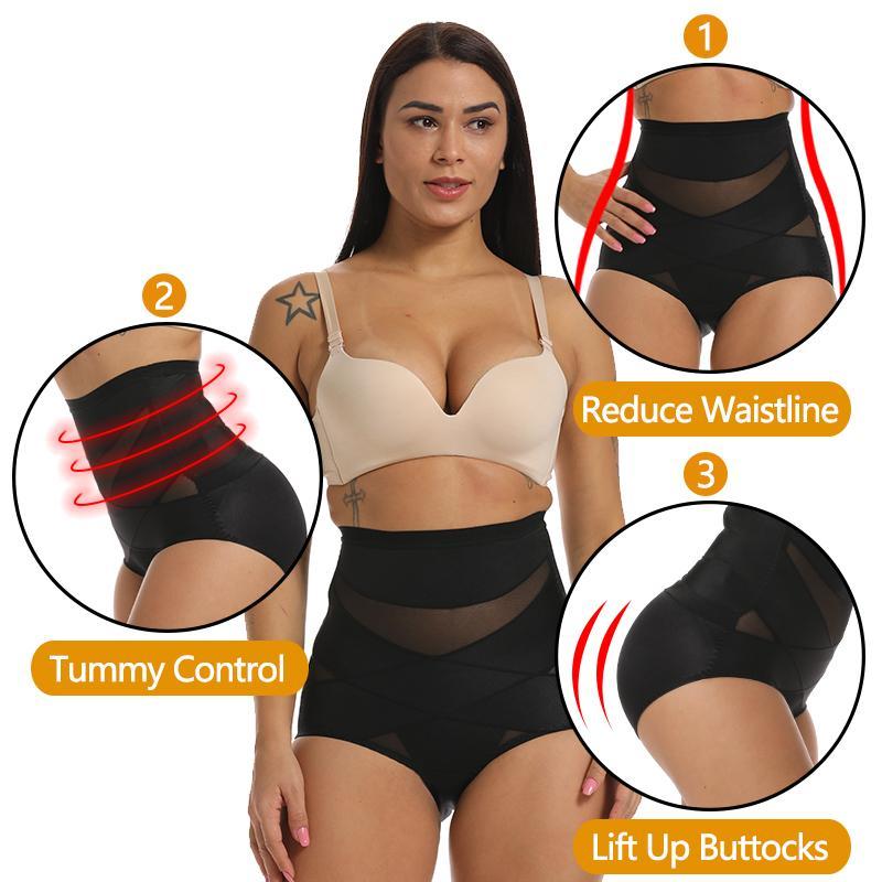 Kadınlar Butt kaldırıcı Shaper Dikişsiz Külot Yüksek Bel Karın Kontrol Külot İnce Shapewear Sıkı İç İç