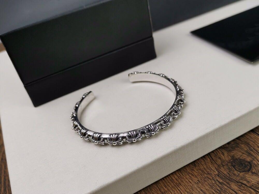 Popular marca de moda CH designer pulseiras cruzadas para Design senhora homem e amantes de casamento das mulheres partido presente Luxury Hip hop jóias.