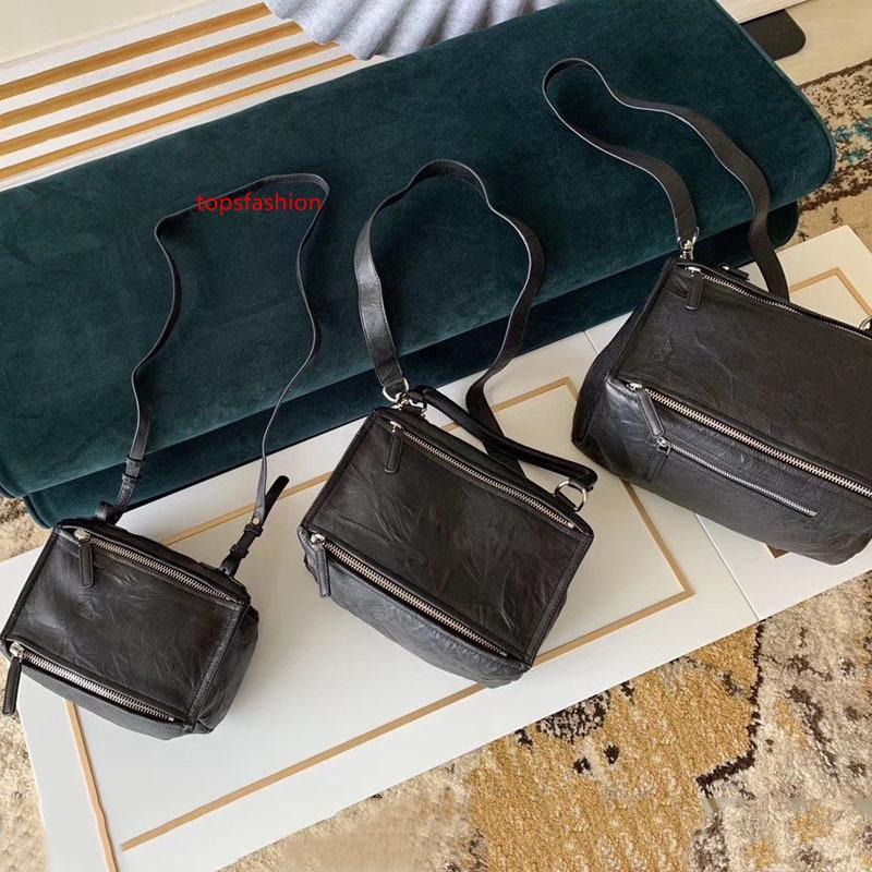Marka kadınlar PANDORA'NIN TORBA İÇİNDE YAŞLI DERİ 2020 yeni moda çanta tasarımcısı lüks çanta çantalar bayan çapraz vücut pandora torbası