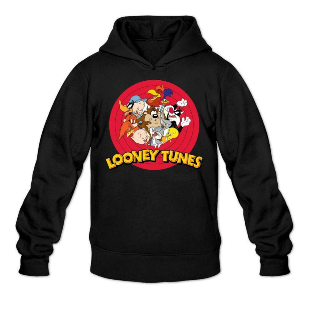 en venta 39b68 1d4cf Compre Sudadera Con Capucha Para Hombre Looney Tunes A $18.28 Del Tigerball  | DHgate.Com