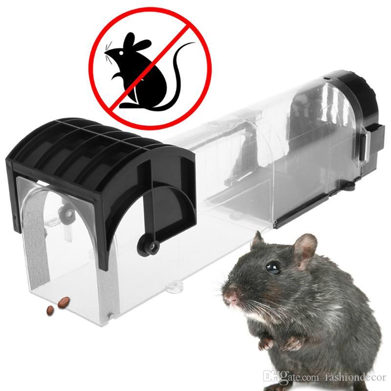Los ratones ratonera Pest Reject inundaciones rata roedor abrazadera de caja del parásito de la hormiga del ratón Rat Trap Trampa shiping libre