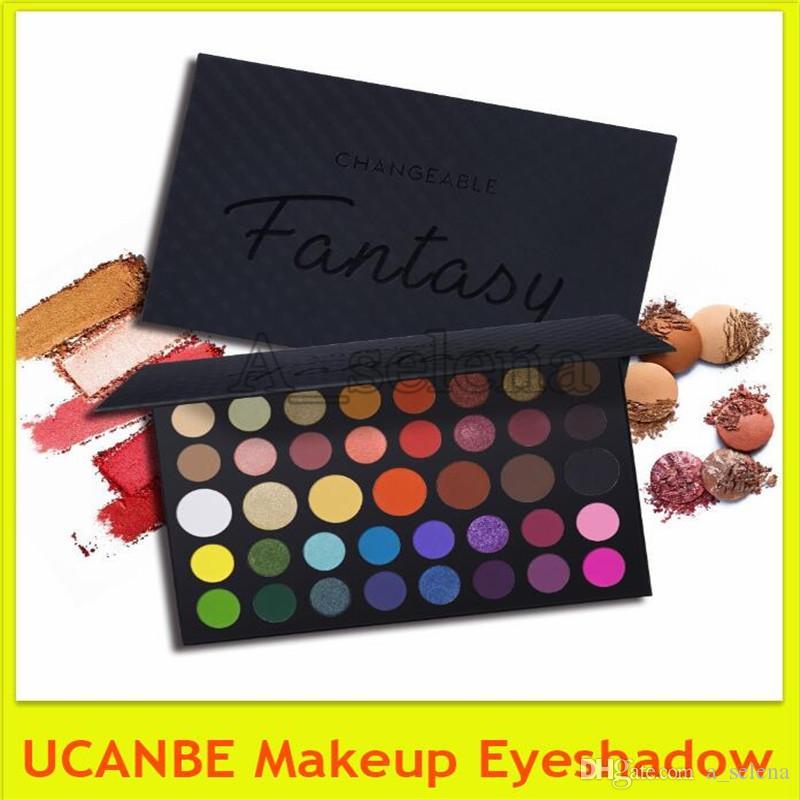 UCANBE Makyaj Göz Farı Palette39 Renkler sihirli Göz Farı Paleti Mat Işıltılı yüksek pigmentli Doğal Bronz Nötr Dumanlı