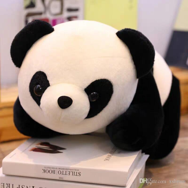 Baby Big Giant Panda Bear Plush Stuffed Animal Doll Toy Pillow Cart Cute GIFT
