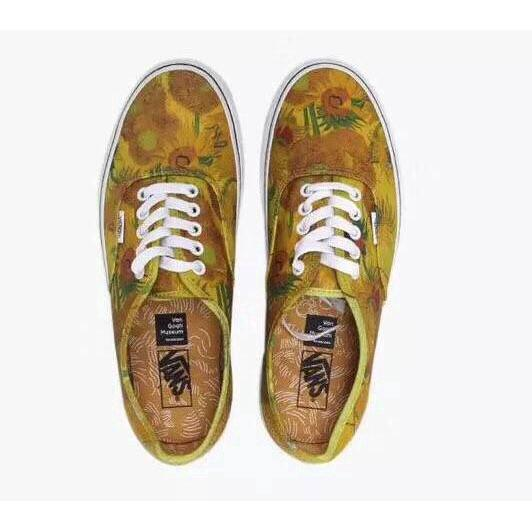 5e99ef1479bda 2019 Mens & Womens VANS X Vincent Van Gogh Museum SUNFLOWERS Slip On Old  Skool Loafers For Men Red Shoes From Johnson_jo167, &Price;  DHgate.Com