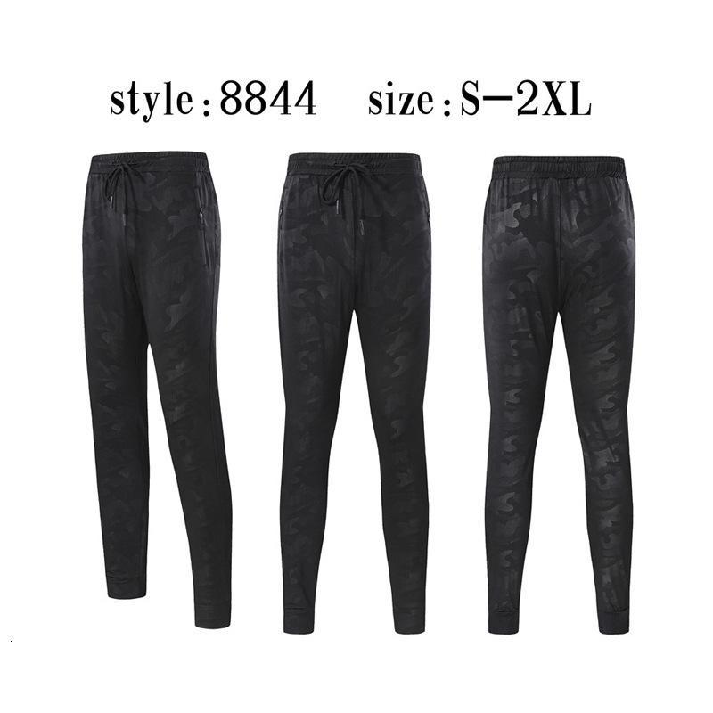 2019 del Fondo per adulti Movimento Pantaloni auto-coltivazione di personalità Stampa di piedi fasciati di chiusura Run Bodybuilding Pantaloni Pants