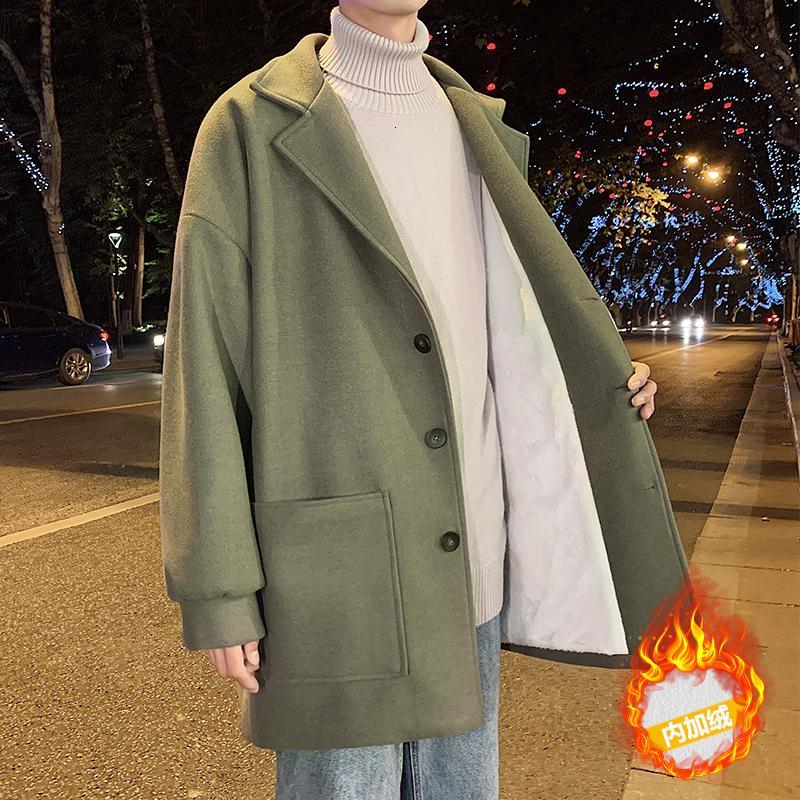 2019 UYUK autunno / inverno Nuova Collezione di stile, Uede E ispessito Student coppia Agnello Fodera cappotto per gli uomini Hombre Cotone