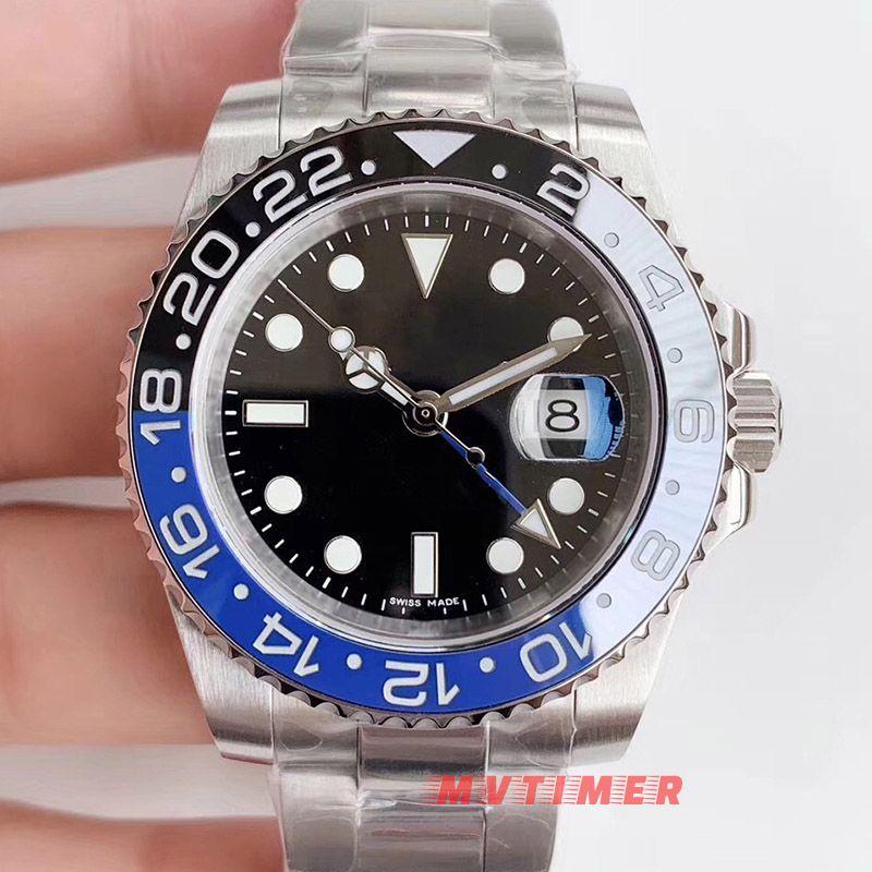 아무 로고 브랜드 고급 기계 자동 남성 시계 Relogio Masculino Reloj 세라믹 베젤 스포츠 남성 시계 손목 시계 Ocysa
