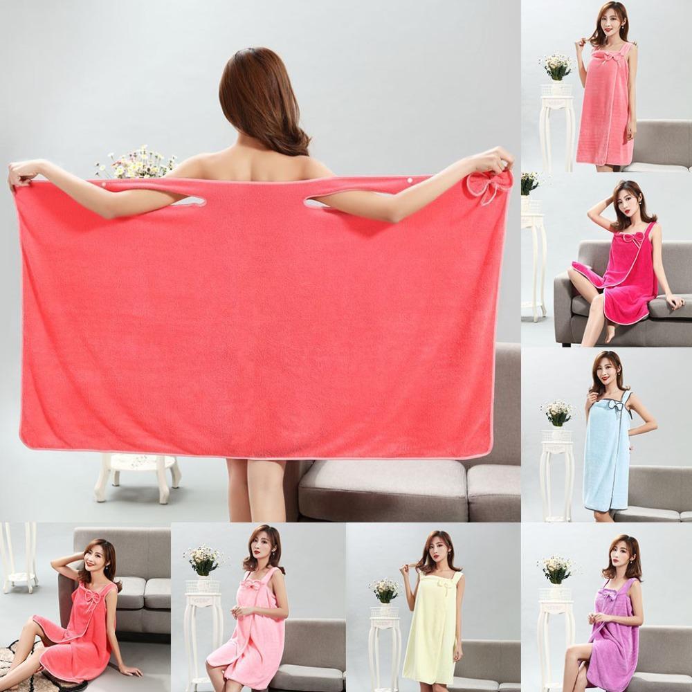Bath Blanket Women Flannel Blankets BathRobe Sleepwear Wedding Robe Nightgown Sexy Nightdres Winter Towel Thick Warm Female Gown Negligee