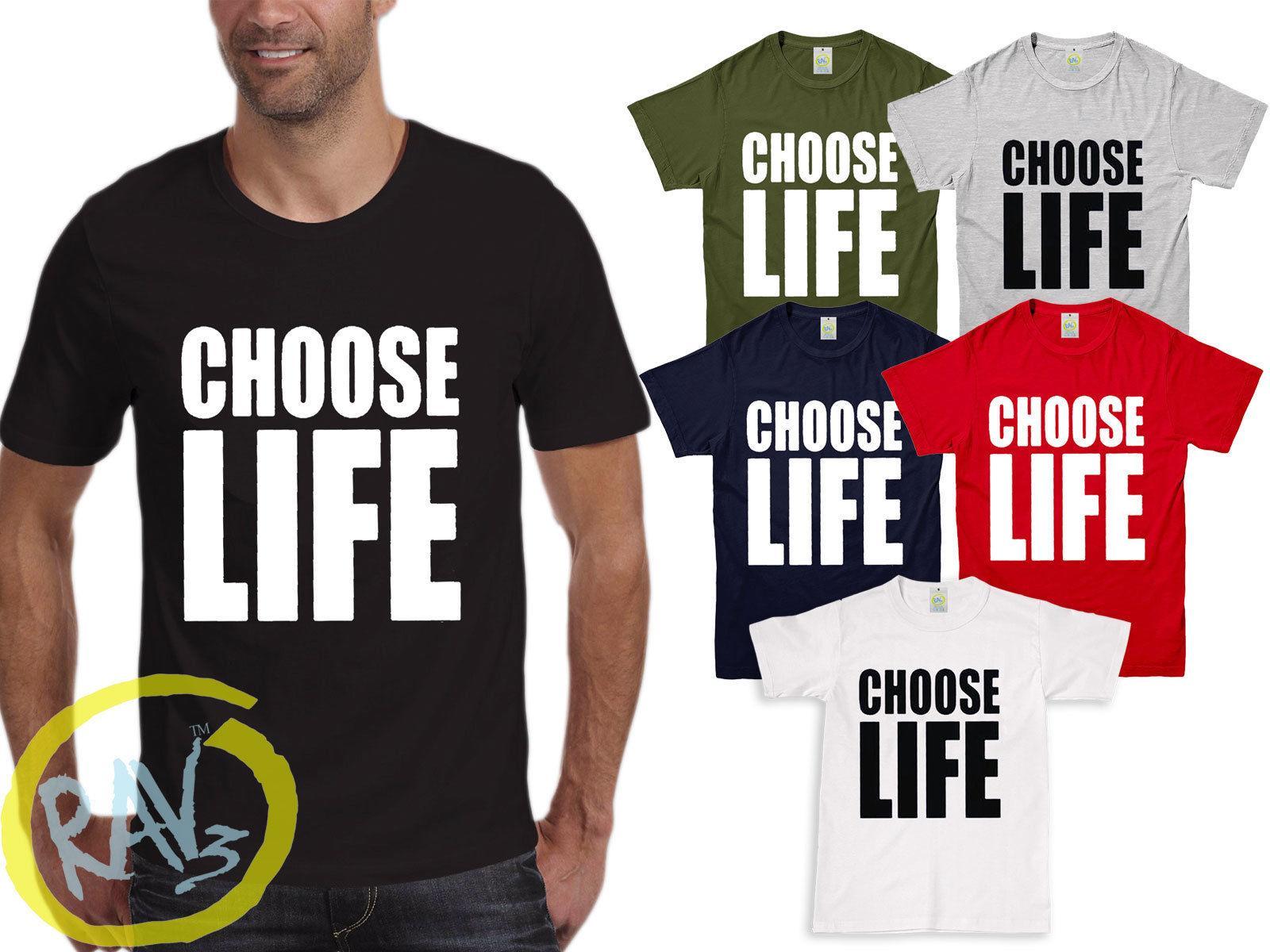 Choose Life T Shirt Wham 80s George Michael Fancy Dress Concert Top New Funny Casual Tshirt Top Designer T Shirts Short Sleeve Shirts From Roboteatstofu 12 96 Dhgate Com