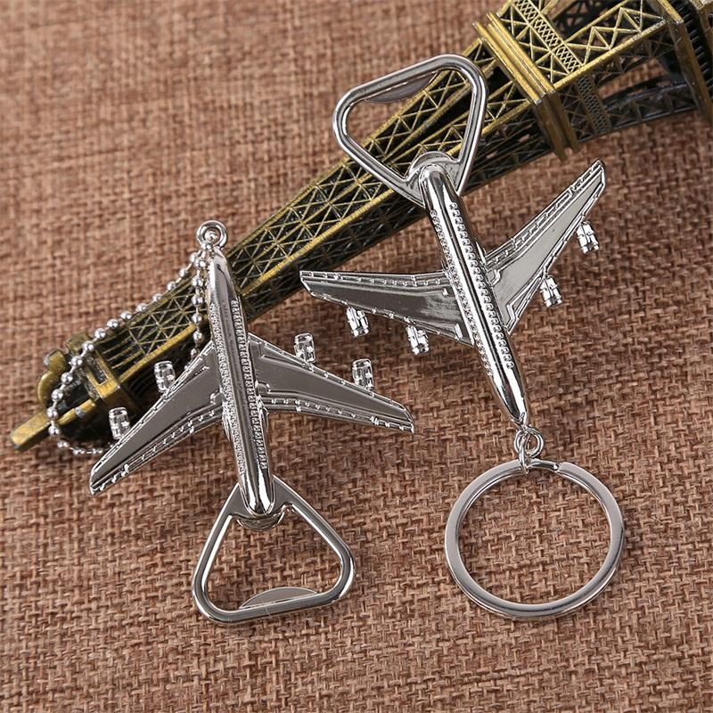 Aircraft Modeling Key Buckle Retro Style Keys Chain Personalized Bottle Openers Wedding Favors Giveaways Gift Creative 1 6lt L1