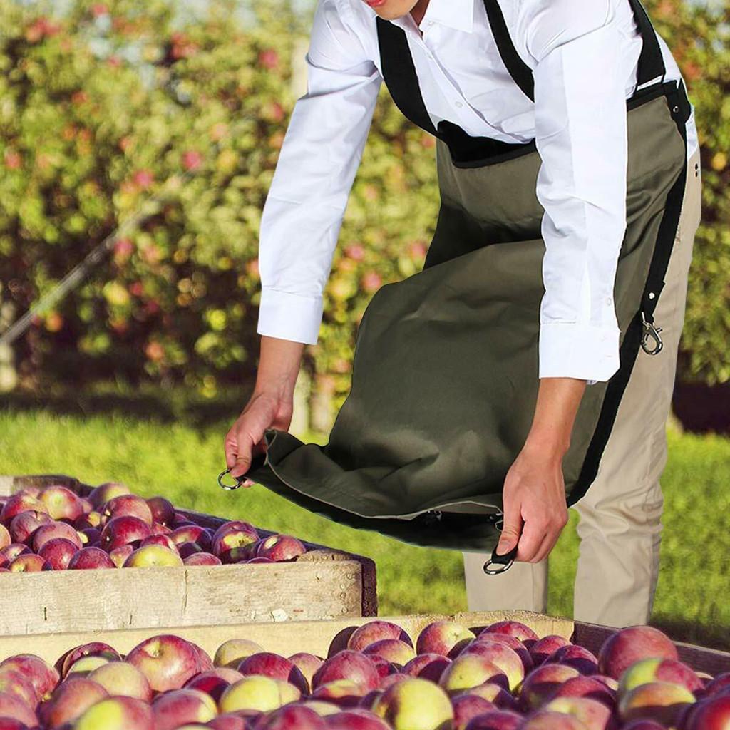 Фруктовый многофункциональный осенний выбор фартук хранения мешок водонепроницаемый органайзер урожай сад Оксфорд фартук #т овощной новый hljws