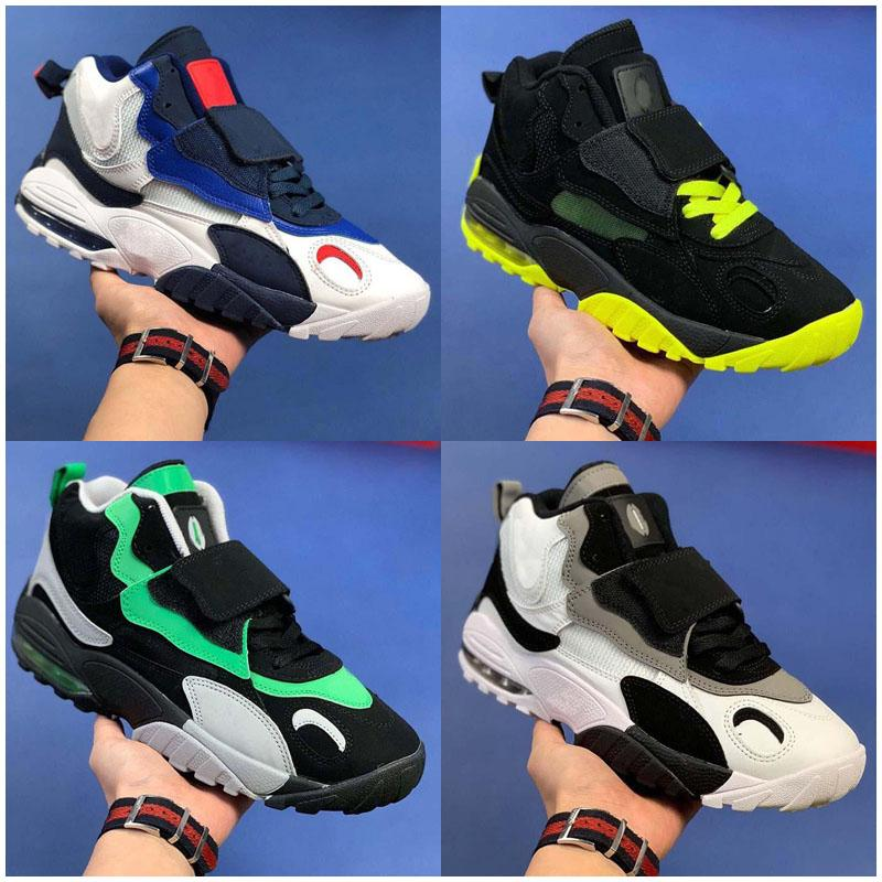 Mens Speed Turf Big Eyes Basketball extérieur Chaussures Homme Mode Formateurs Chaussures de sport classique Chaussures 40-45