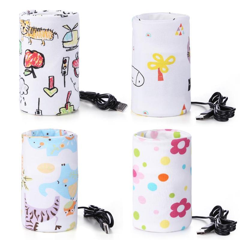Milk Warmer Insulated Bag Portable Travel Cup Warmer Baby Nursing Bottle Cover Warmer Heater Bag Infant Feeding Bottle Bags