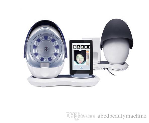 محلل الجلد مع WIFI 5 الجيل المرآة السحرية الذكي محلل الجلد الوجه الجلد تحليل آلة أدوات تجميل الوجه معدات