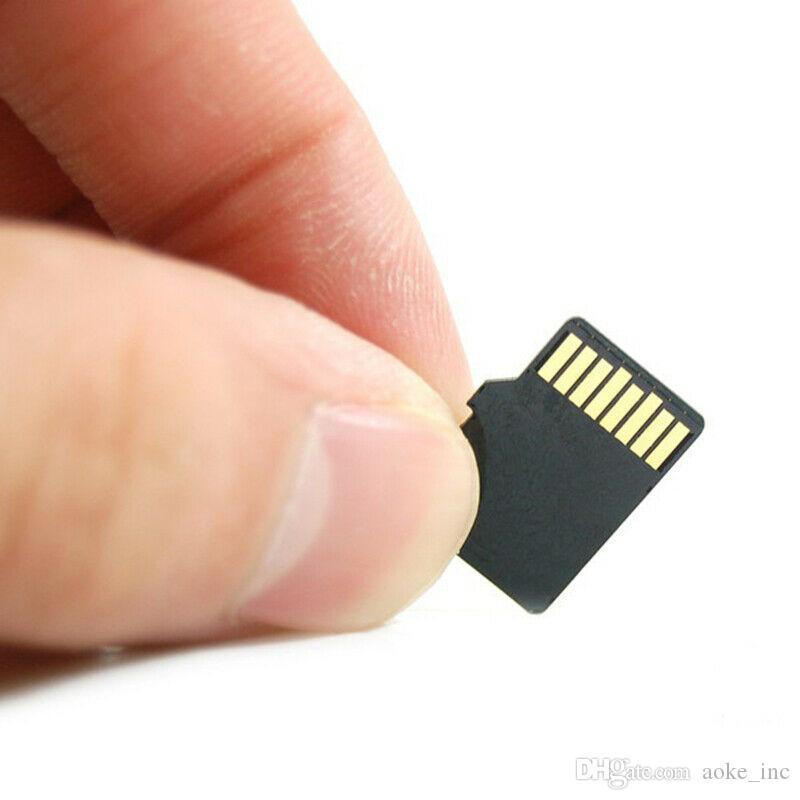 10PCS / LOT ريال سعة 8GB 16GB 32GB 64GB HC بطاقة TF بطاقة ذاكرة فلاش حملة HC الدرجة 10 لكاميرا الهواتف النقالة 80MB / ق 32G