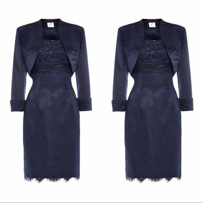 Vintage Designer Mother of the Bride Groom Dresses With Jacket New Sleeved Beaded Satin Long Evening Formal Gowns Custom Made