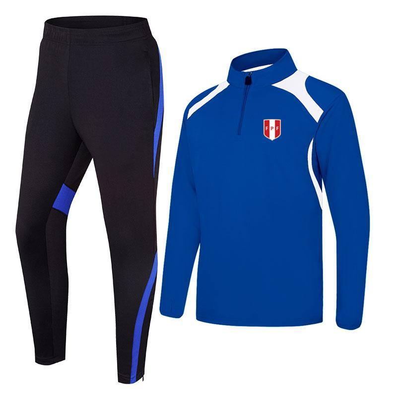 Перу 2020 весна и осень новая куртка футбольная тренировочная одежда долго может быть DIY custom мужская спортивная тренировочная одежда