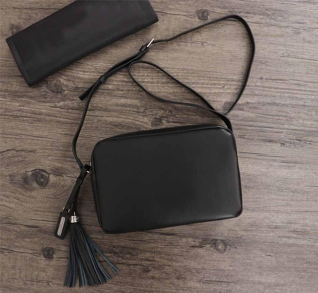 lona pura qualidade agradável frete grátis New estilo europeu Camera Bag Ladies clássicos ombro Bolsa tiracolo