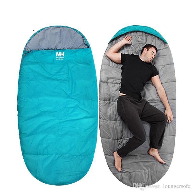 Tuba saco de dormir Widen saco de dormir al aire libre mantener caliente Naturehike NH gran espacio colores Mix Camp primavera y otoño 115hlf1