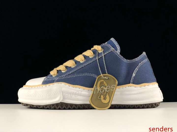 Yeni Nigel Cabourn Maison Mihara Yasuhiro Orijinal Sole Tuval Üçlü S Platformu Günlük Ayakkabılar kadınların erkek Tasarımcı Sneakers bot Koşu