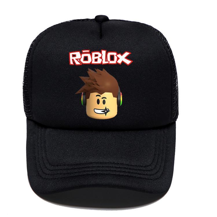 6 estilos Jogo Roblox desenhos animados Crianças Sun boné de beisebol Hip Hop chapéus menina do menino Caps para crianças Presente de aniversário Souvenir EMS TJY514