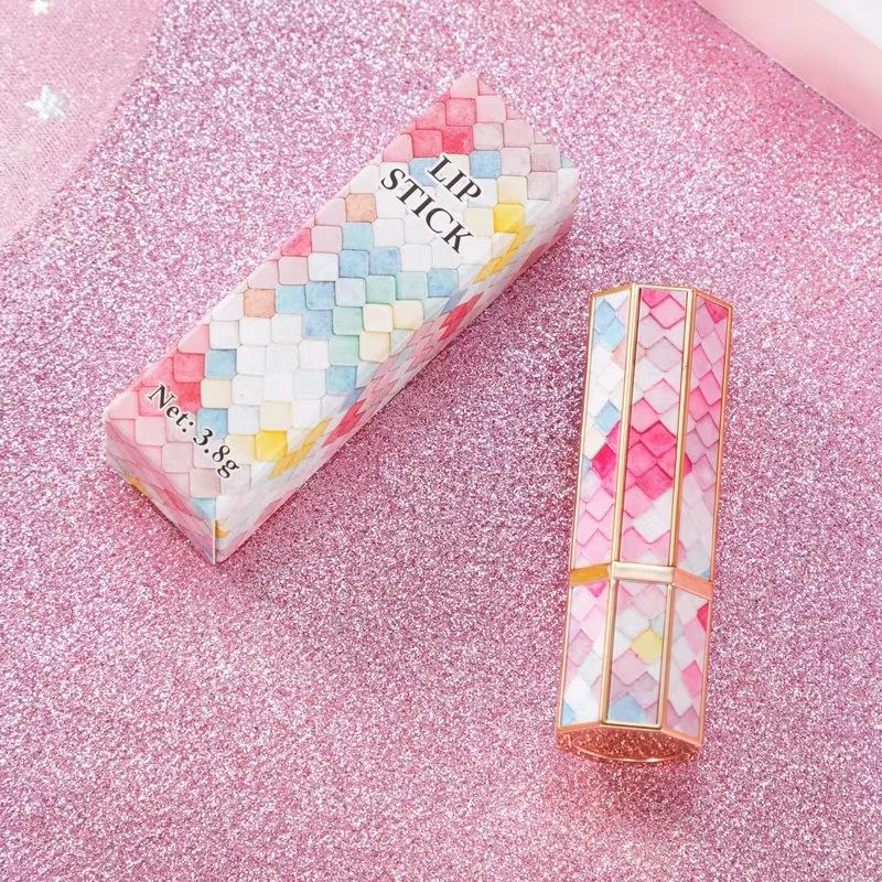 3D Style Empty Mermaid Lipstick Tube Handmade DIY Makeup Lip Balm Wholesale Lip Gloss Packing Containers