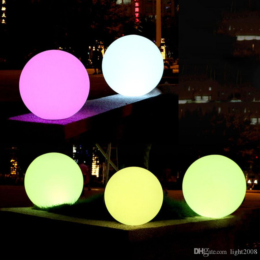 À prova d 'água LEVOU Piscina Bola Flutuante Lâmpada RGB Casa Jardim Ao Ar Livre Indoor KTV Bar Festa de Casamento Iluminação Decorativa Do Feriado