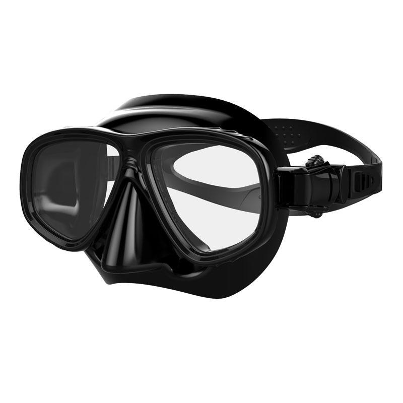جودة عالية العلامة التجارية الغوص معدات الغوص السباحة قناع نظارات تشديد الزجاج المقسى صيد الأسماك بالرمح الغوص قناع 2020 K650G