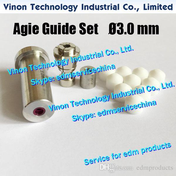 1.6-3.0mm Juego de guía de tubo de electrodo Agie para Actspark SD1, Drill20, HD30 335009 335009078,335010838,335010791,335010790,335013223,335009852