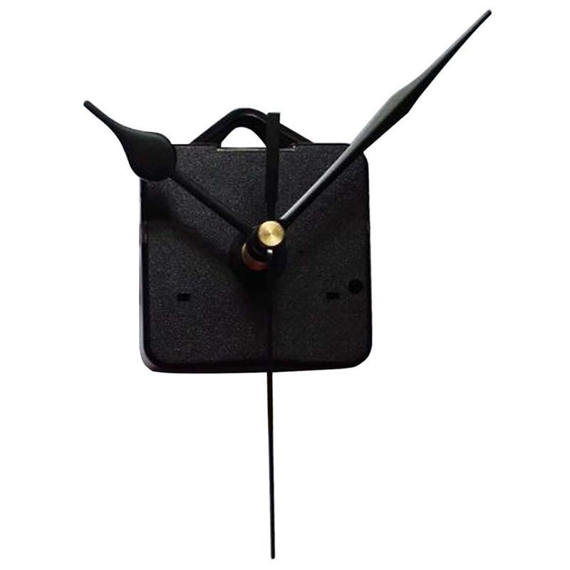 Reloj de cuarzo con gancho Movimiento Kits Mute reloj de pared Piezas Movimientos Mecanismo de reparación de piezas de bricolaje