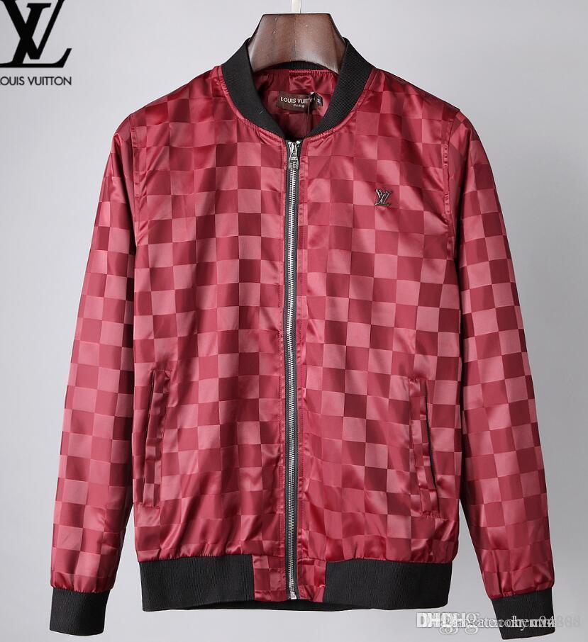 erkek giyim parti için sonbahar ve kış, lüks moda hattı için yeni yüksek kaliteli Avrupa ceket, BOYUT M ~ 3XL # 04