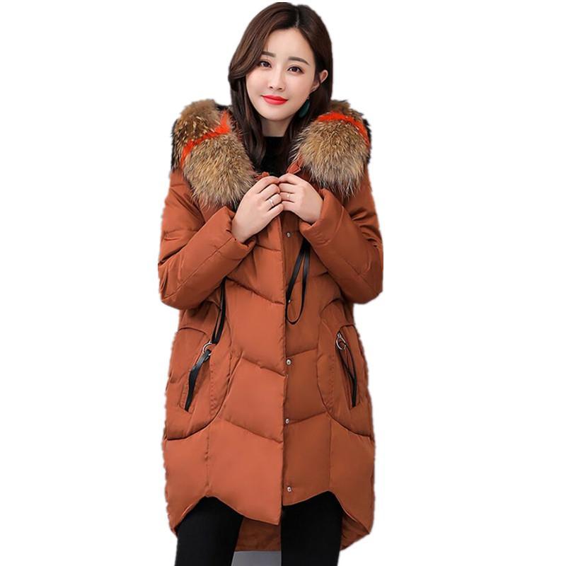 2020 Plus Size Winter Jacket Women Coat 2019 New 6XL Large ...