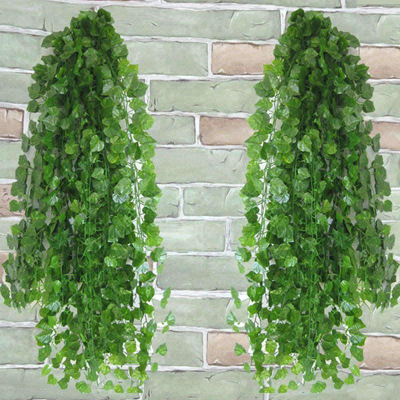 2020 Artificial Ivy Leaf Garland Fake Plants Vine Fake Foliage