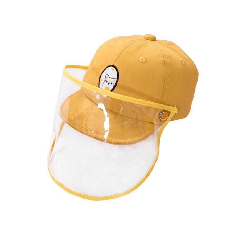 Baby boy girl Hats Anti-fog hat children's protective baseball caps outdoor Face Cover Cap Hat