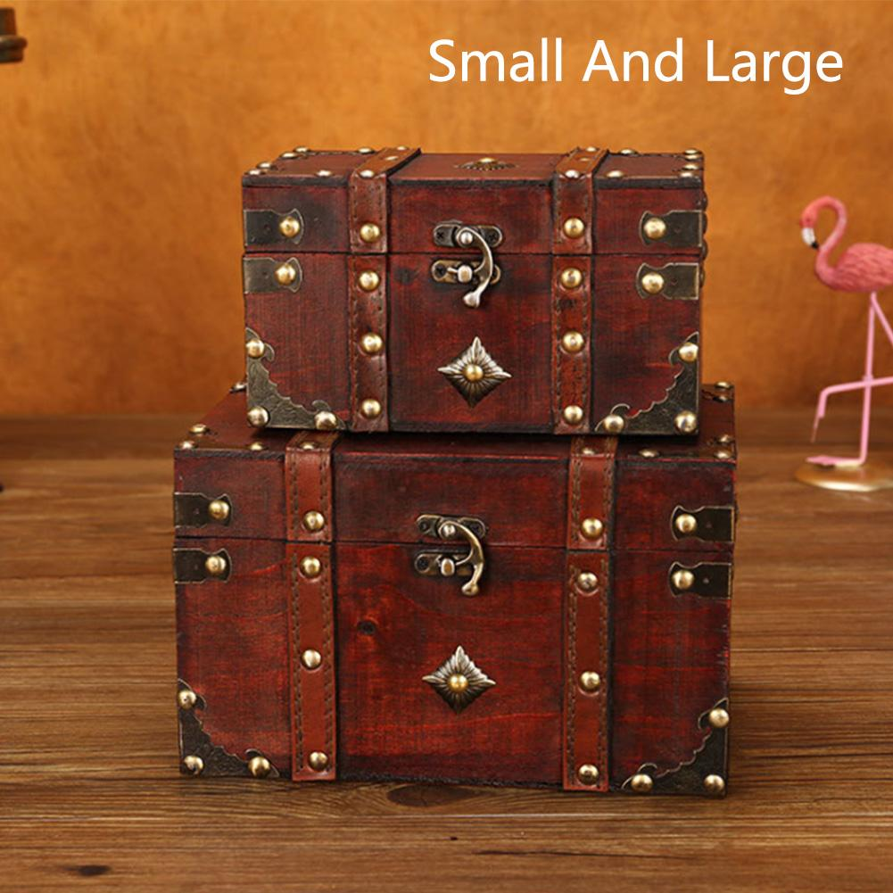 2020 Wholesale Box Bedroom Antique Stationery Wardrobe Vintage Lockable Toys Safe Wooden Square Living Room Multi Layer Jewelry From Shuangyin1999, $15.23 | DHgate.Com