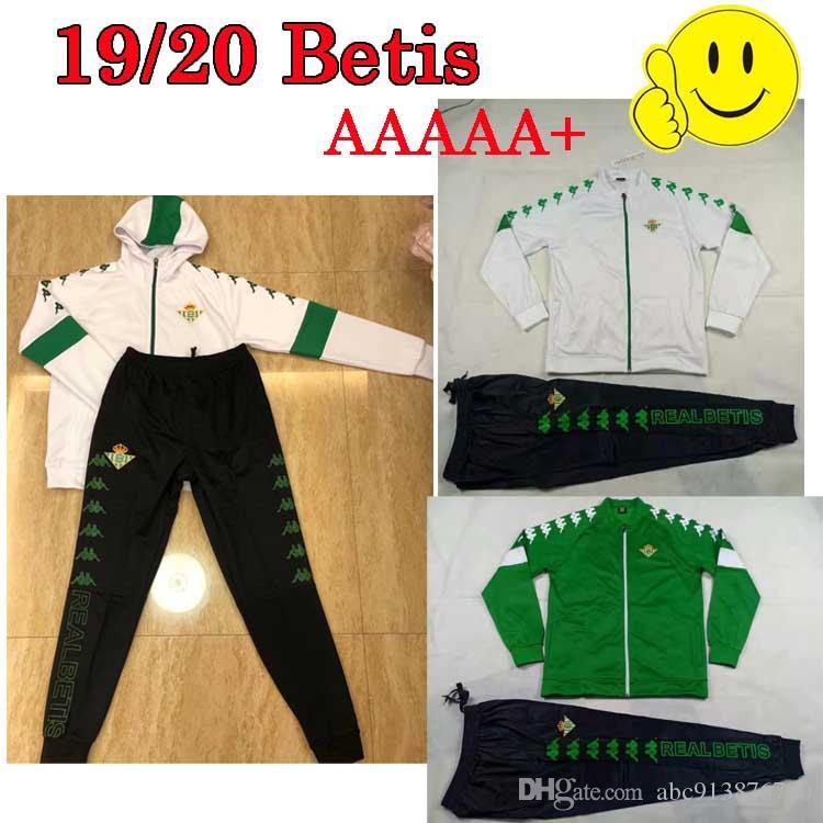 19 20 Royal Betis soccer jersey JUANMI MANDI maillot JOAQUIN football real Betis 19-20 camiseta futbol green white Men Hat jacket