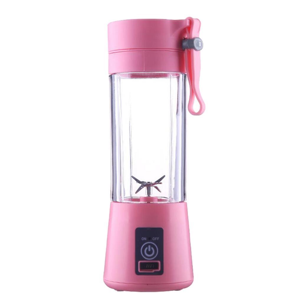 380ml перезаряжаемые USB Электробезопасность Соковыжималка Juice Cup Смеситель Ice Blender