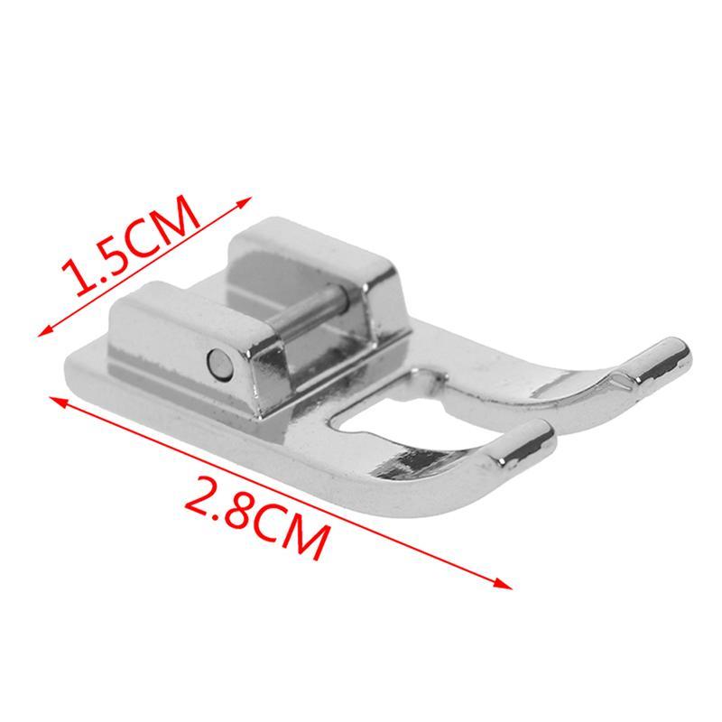 5PCS Pie Para el hermano de coser eléctrica Máquina de coser piezas de apertura Ordinaria del prensatelas Parche bordado presión de los puntos